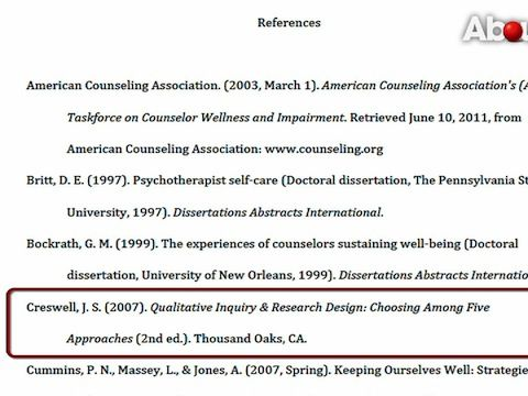 Doctoral dissertation help apa reference